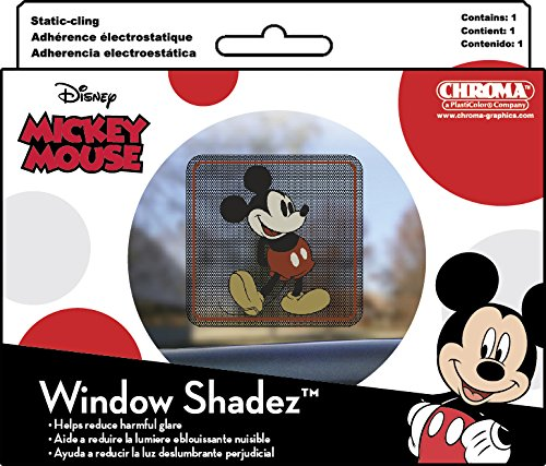 Chroma 42001 Mickey Mouse Window Shadez (Chroma Graphics Static Cling)