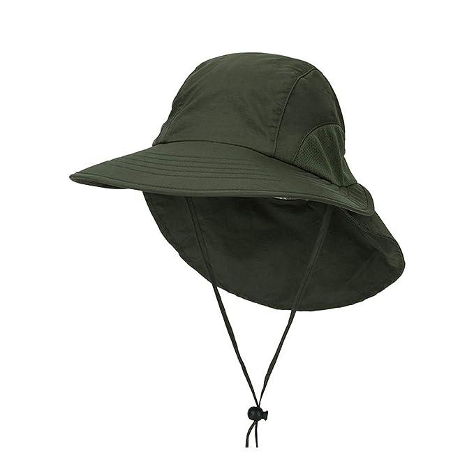 LOPILY Sombrero de Sol Impermeable Grande Transpirable Sombreros ...