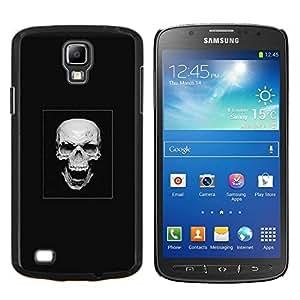 YiPhone /// Prima de resorte delgada de la cubierta del caso de Shell Armor - Cráneo malvado de la risa - Samsung Galaxy S4 Active i9295