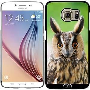 Funda para Samsung Galaxy S6 (SM-G920) - Lindo Búho Chico Ojos Divertidos by Katho Menden