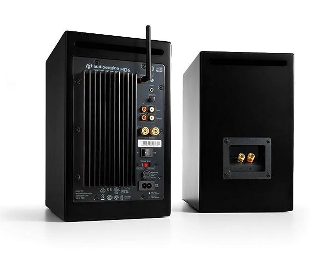 Audioengine HD6 Premium- Set de altavoces, color negro: Amazon.es: Electrónica