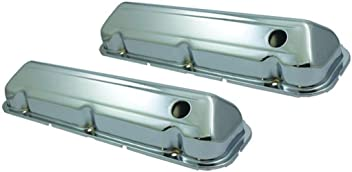 SPECIALTY CHROME Big Block Chevy 4 qt Engine Oil Pan P//N 7444X