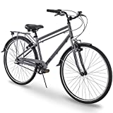 700c Royce Union RMX Mens 3-Speed Commuter Bike, 17' Aluminum Frame, Cool Gray