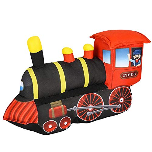 ArtCreativity 10 Inch Cozy Plush Train for Kids - Soft and Cuddly Stuffed Baby Train Toy - Cute Nursery Decor - Carnival Prize - Best Gift for Baby Shower, Boys, Girls, Newborn, Infant, Toddler