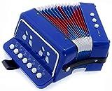 SKY Accordion Blue Color 7 Button 2 Bass Kid