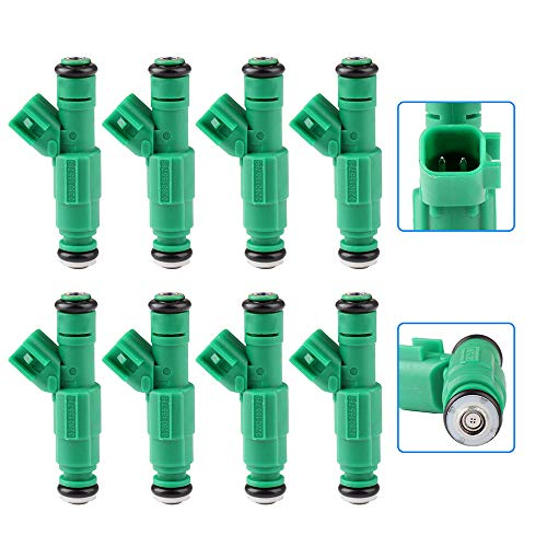 Injectors,cciyu 4 Holes Fuel Injectors Set fit for 1996-1998 Dodge B1500/B2500/B3500,1996-1999 Dodge Dakota/Ram 1500 2500 3500,1998 1999 Dodge Durango,1999 Dodge Ram 2500 3500 Van 0280155789,8 -