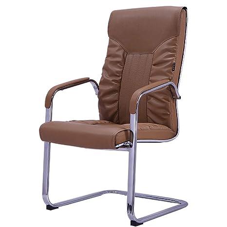 Amazon.com: Sillas de oficina sin ruedas, silla de ordenador ...