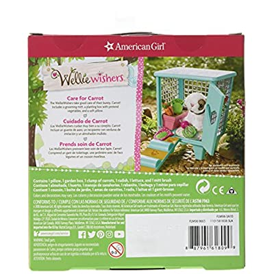 American Girl Welliewishers Carrot's Hutch Accessories Doll Accessories: Toys & Games