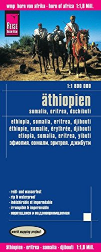 Ethiopia / Somalia / Djibouti / Eritrea 2015 (English, Spanish, French, German and Russian Edition)