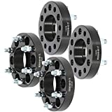 OCPTY 4X 1.25 inch 6 Lug Wheel Spacers 6x135mm to 6x135mm with 14x2 Studs for 6-Lug for for-d Expedition F150 F-150 for Lincoln Navigator Mark LT Adapters