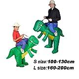 T-Rex Dinosaur Inflatable Halloween Dress Party Costume Dino Rider Kid Adult (Kid)