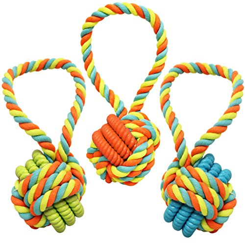 Boss Pet Chomper extra tough & Colorful Knoted Rope & TPR Co