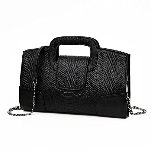 Party Chain Pu Clutches Messenger Evening Bag Haihuayan Shoulder Women Ladies Bags Handbag Eaxzzqp6Z