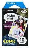 fujifilm instax mini film comic - Fujifilm Instax Mini Comic Instant Film (Multi-Color)