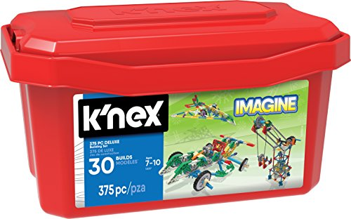 K'NEX - Deluxe Building Set – 375 Pieces – For Ages 7+ Construction Education Toy - Kid Knex Building