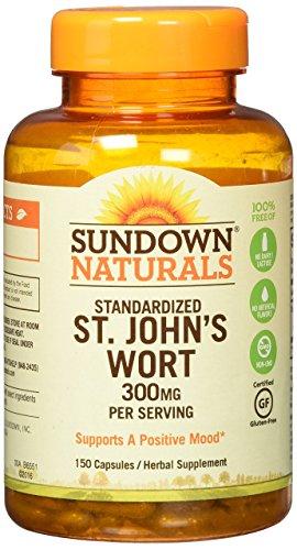 Sundown Naturals Standardized Johns Capsules product image