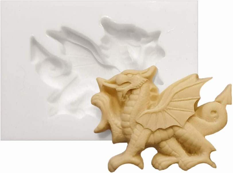 """Kitchencraft Large Metal /""""Welsh Dragon/"""" Country-Themed Cookie Cutter"""