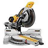 DEWALT DWS780 12-Inch Double Bevel Sliding Compound Miter Saw, One...
