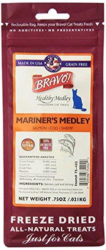 Bravo 294132 Mariners Medley Salmon/Cod/Shrimp Food For Pets, ()