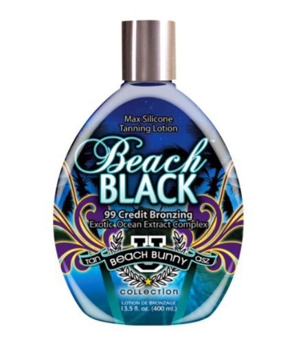 Tan Asz U BEACH BLACK Max Silicone Bronzer Tanning Lotion 13