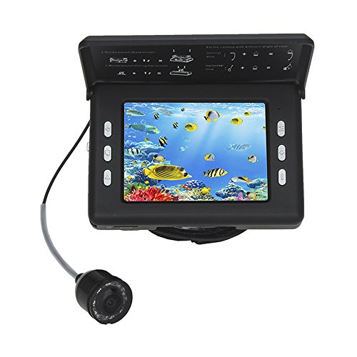 Eyoyo 3.5 Inch Video Fishing Camera DVR Fish Finder HD Color Screen Underwater 130° Wide Angle Waterproof Cam with 3000 mAh Rechargeable