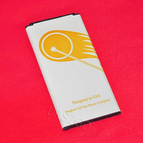 (High Power 4450mAh Extended Slim Battery for Samsung Galaxy S5 I9600 SM-G900P Smartphone - URS2GO)