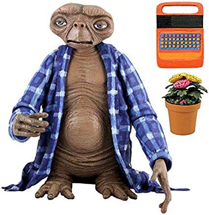 7 scale action figure series 2 Telepathic E.T. E.T NECA the Extra-Terrestrial