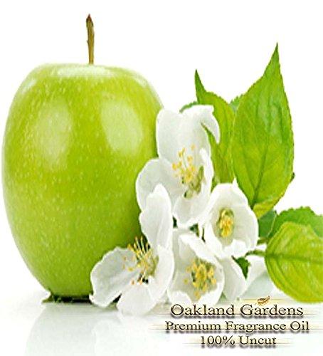 GREEN APPLE Fragrance Oil - 100% Pure Premium Grade - BULK Fragrance Oil By Oakland Gardens (240 mL - 8.0 fl oz Bottle) by Oakland Gardens
