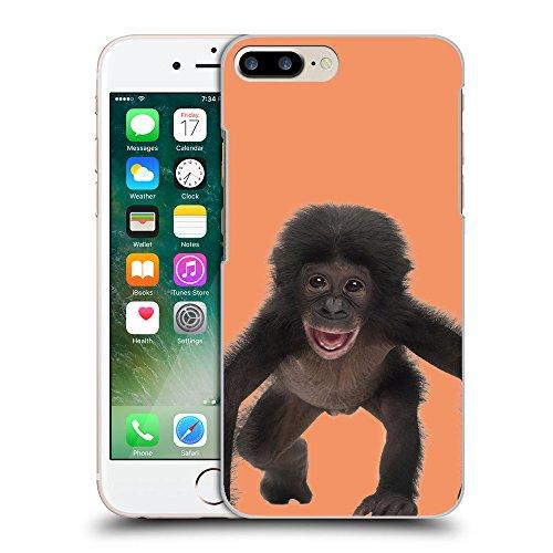 GoGoMobile Coque de Protection TPU Silicone Case pour // Q05570607 Bébé bonobo Atomic Tangerine // Apple iPhone 7 PLUS