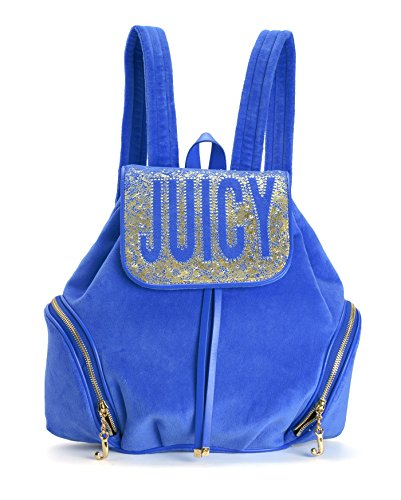 Juicy Couture Pretty in Paradise Velour Backpack, Summer Raine by Juicy Couture