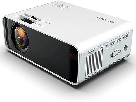 Proyector Pantalla de Proyección Proyector de Video Soporta 1080P HD, Proyector Mini Compatible con TV Stick PS4 Xbox HDMI SD USB etc Home Theater Proyector: Amazon.es: Electrónica