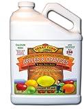 Urban Farm Fertilizers Apples & Oranges. Fruit & Citrus Fertilizer. 1 Gallon. Makes 256 gals.