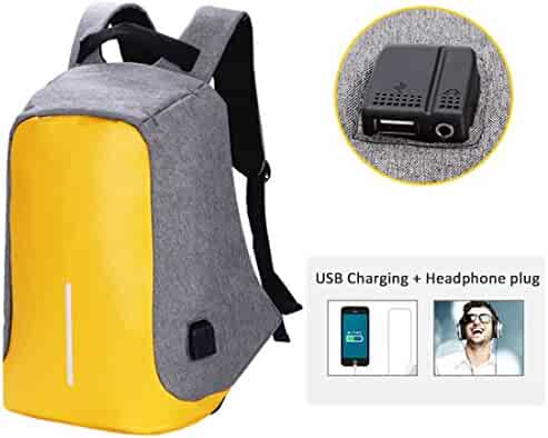 College Laptop Backpack, Anti-theft Waterproof Business Backpack with USB  Port 0bdc2e639b