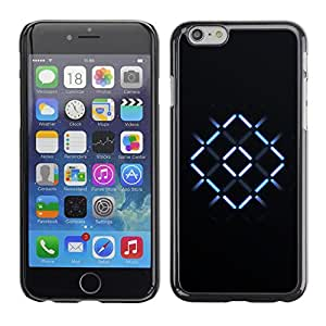 Design for Girls Plastic Cover Case FOR iPhone 6 Neon X Cross OBBA