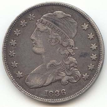 1836 Capped Bust Quarter Extra Fine Details