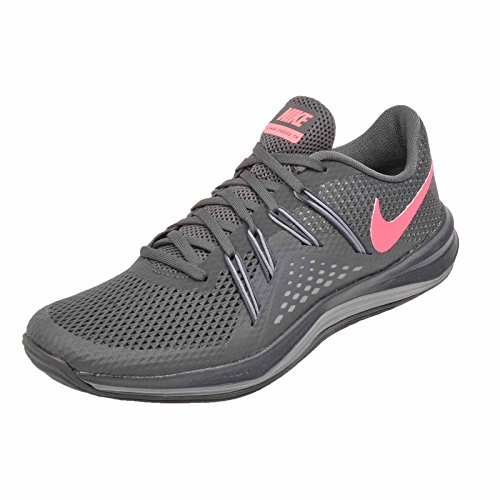 Women's Grey Cool Exceed Cross NIKE Lunar Punch Hot Anthracite Trainer 7dwzxzv1q
