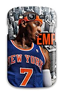 Perfect Carmelo Anthony Case Cover Skin For Galaxy S3 Phone Case