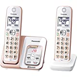 Panasonic KX-TGD562G Link2Cell Bluetooth Cordless Phone with Voice Assist and Answering Machine - 2 Handsets