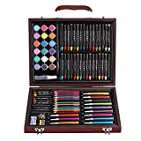 Children's Drawing Sets School Supplies Nursery Brush Painting Crayon Crayon Art Stationery Gifts (Color : Brown)
