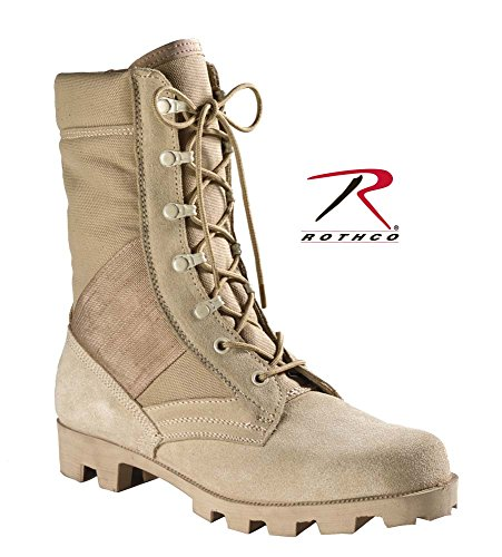 Military Style Jungle Boots Desert Tan Speedlace Jungle Boot Size 9W O5TW96fw9