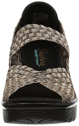 Skechers Cali Women S Parallel Weave It Be Wedge Sandal
