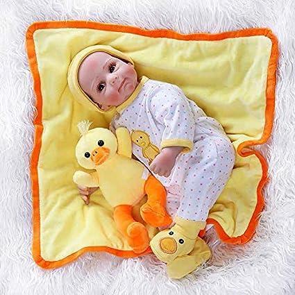 Amazon.com: 20.5 in recién nacido dulce bebé cara realista ...