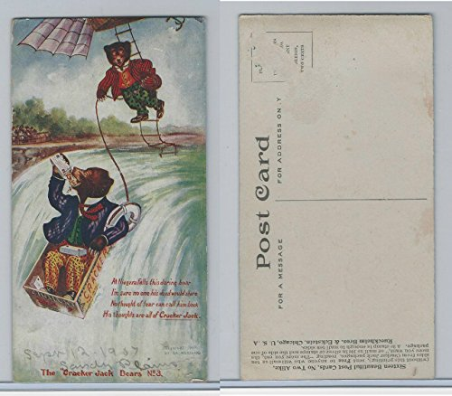 E147 Cracker Jack Bears, 1907, 3 Niagara Falls