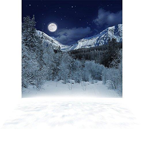 Photography Backdrop - Alpine Night - 10x20 ft. Seamless Fabric