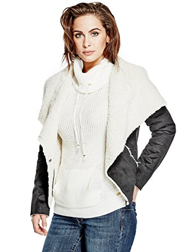 GUESS-Womens-Kayli-Faux-Suede-Sherpa-Jacket