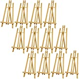 US Art Supply 18'' Large Tabletop Display A-Frame Artist Easel (12-Pack)