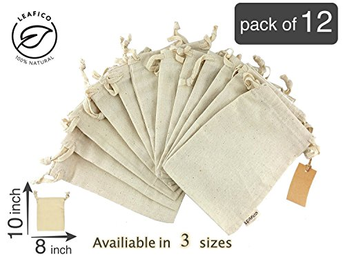 Cotton Canvas Storage Bags - 5