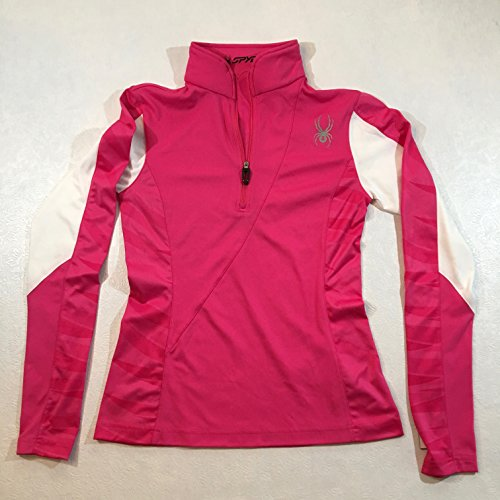 Dry Web Turtleneck - Spyder Voltaic Women's Dry W.E.B. Turtleneck Hot Pink/White 6