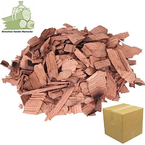 Wood Chips Kirsche Cherry Wood 1,5 kg- 7 Liter Räucherchips für Grill und Smoker BBQ