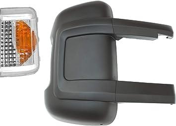 Brasko Auto Spiegelgehäuse Rechts Beifahrerseite Mit Blinkerkappe Für Lange Halter Auto